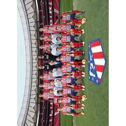 Postal Atletico De Madrid 2018/2019 Plantilla