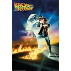 Poster Back To The Future Key Art