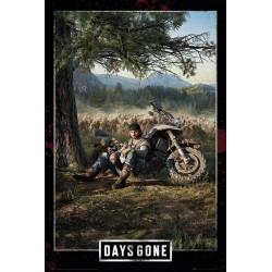 Poster Days Gone Key Art Cover