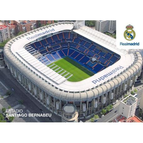 Postal Real Madrid Estadio Santiago Bernabeu