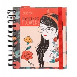 Agenda Escolar 2019/2020 Día Página M Tatto