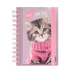 Agenda Escolar 2019/2020 Día Página S Studio Pets Cats