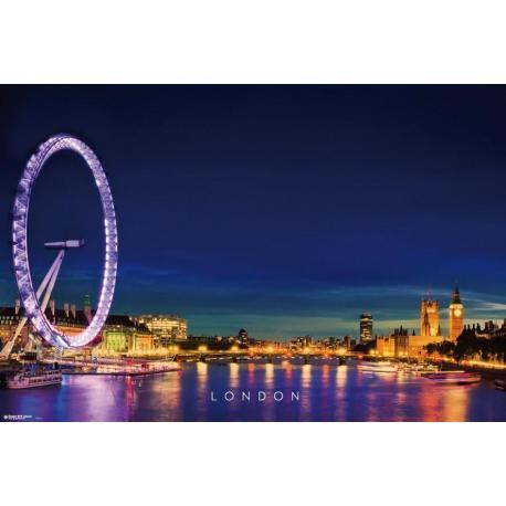 Poster Londres Tamesis