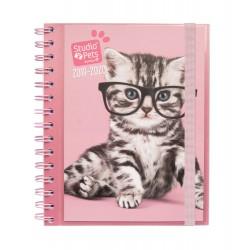 Agenda Escolar 2019/2020 Semana Vista Studio Pets Cats