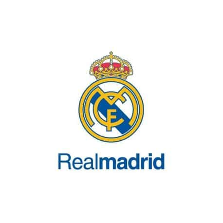 Postal A4 Real Madrid Escudo