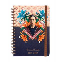 Agenda Escolar 2019/2020 A5 12 Meses Semana Vista Frida Kahlo