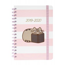 Agenda Escolar 2019/2020 A5 12 Meses Semana Vista Pusheen Rose Collection