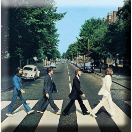 Imán Los Beatles Abbey Road