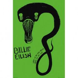 Poster Billie Eilish Ghoul