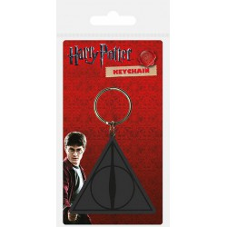 Llavero Harry Potter Deathly Hallows Logo Carded