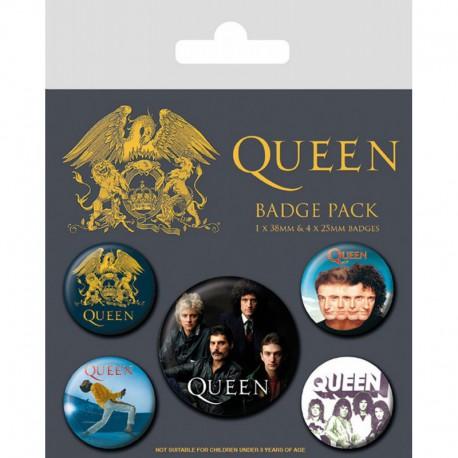 Pack Chapas Queen Classic