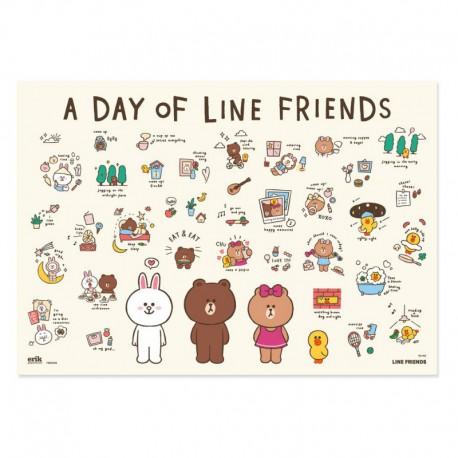 Vade Escolar Line Friends