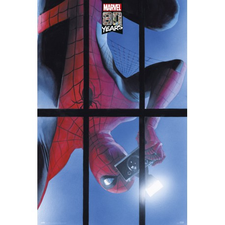 Poster Marvel 80 Years Spiderman