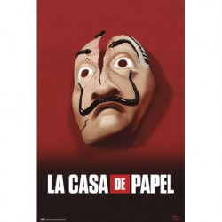 Poster La Casa De Papel Mascara