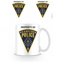 Taza Stranger Things Hawkins Police Badge