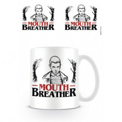 Taza Stranger Things Mouth Breather
