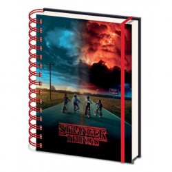 Cuaderno 3D A5 Premium Stranger Things Mind Flyer
