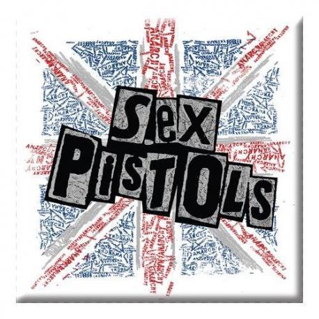Iman Sex Pistols Logo y Banderas