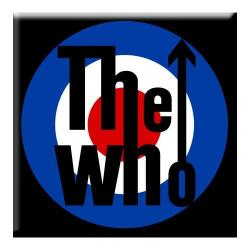 Imán The Who Target Logo