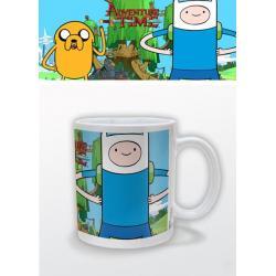 Taza Hora de aventura Finn & Jake