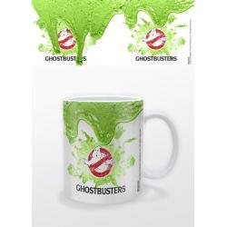 Taza Gazafantasmas Logo Moco Verde