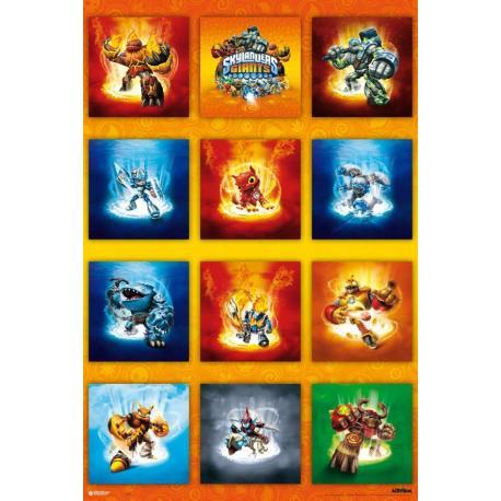 Poster Skylanders