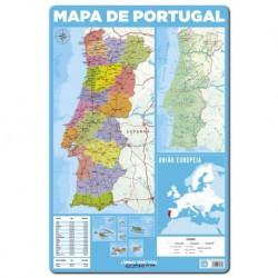 Lamina Didactica Portugues Mapa De Portugal