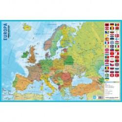 Lamina Didactica Portugues Mapa Da Europa