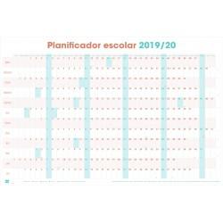 Poster Planificador Escolar 2019/2020 Horizontal Generico