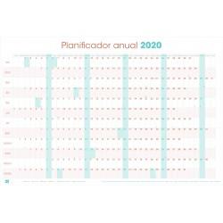 Poster Planificador Horizontal 2020 Generico