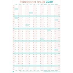 Poster Planificador Vertical 2020 Generico