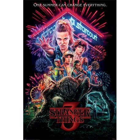 Poster Stranger Things Summer Of 85