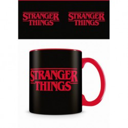 Taza Color Interno Stranger Things Logo