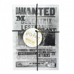 Cuaderno A5 Harry Potter Dark Arts