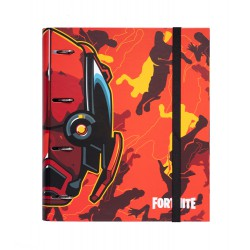 Carpeta 4 Anillas Troquelada Premium Fortnite 2