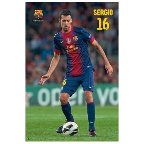 Poster F.C. Barcelona Busquets