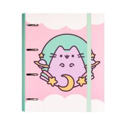 Carpeta 4 Anillas Troquelada Premium Pusheen The Cat 2