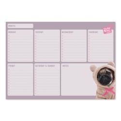 Bloc Planificador Semanal A4 Studio Pets Dogs 2019