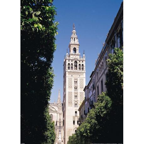 Poster Monumento Sevilla La Giralda