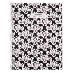 Cuaderno Tapa Polipropileno A4 Pautado Microperforado Mickey Mouse