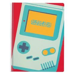Cuaderno Tapa Polipropileno A4 Pautado Microperforado Gamer Nueva Coleccion