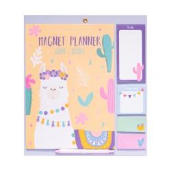 Magnet Planner 2019/2020 Llamas