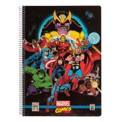 Cuaderno Tapa Polipropileno A4 4X4 Marvel Comics Avengers
