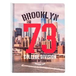 Cuaderno Tapa Polipropileno A4 5X5 Microperforado New York 1986
