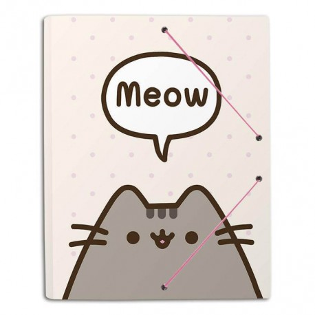 Carpeta Gomas A4 Polipropileno Pusheen The Cat