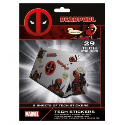 Gadget Decals Marvel Deadpool