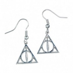 Pendientes Harry Potter Deathly Hallows
