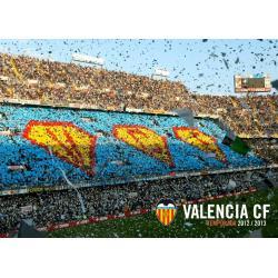 Postal Valencia CF Estadio Mestalla Gradas