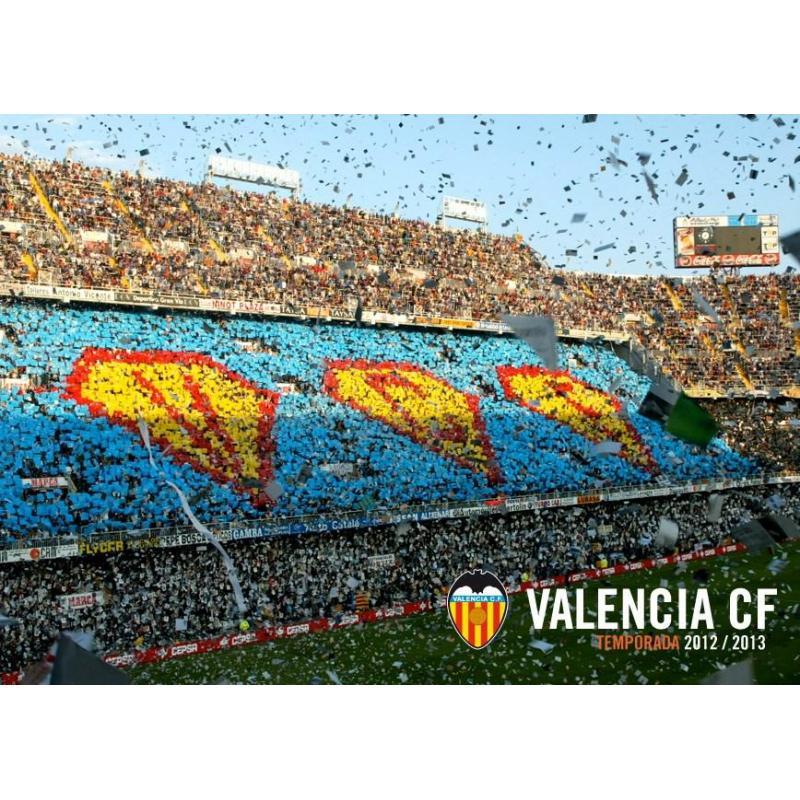 La postal valencia cf estadio mestalla gradas de mejor for Imagenes de gradas