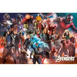 Poster Marvel Avengers Endgame Line Up